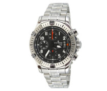 Armbanduhr XL Pioneer XLarge Chronograph Automatik Edelstahl 16071.6131