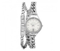 Analog Quarz Uhr mit Edelstahl Armband 8502201