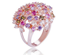 Ringe 925_Sterling_Silber zirkonia '- Ringgröße 52 ZR-7451/RG/52