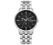 Datum klassisch Quarz Uhr mit Edelstahl Armband WBS104BSM