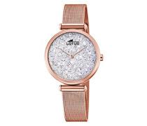 Analog Quarz Uhr mit Edelstahl Armband 18566/1