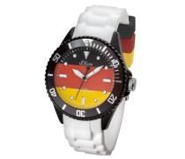 Fußball WM Armbanduhr Deutschland Analog Quarz Silikon SO-2890-PQ