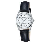 Damen Analog Quarz Uhr mit Leder Armband PH7447X1