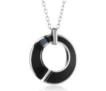 Halskette Edelstahl Match Epoxy schwarz ca. 80 cm JPNL10559A490