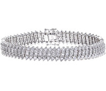 Armband 9 K Weißgold Diamant 5