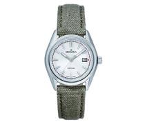 Datum klassisch Quarz Uhr mit Stoff Armband 5585.1532