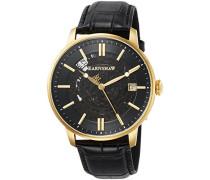Erwachsene Analog Automatik Smart Watch Armbanduhr mit Leder Armband ES-8075-02