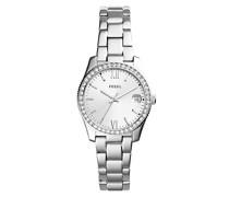 Analog Quarz Uhr mit Edelstahl Armband ES4317