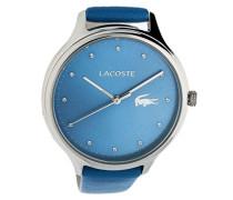 Datum klassisch Quarz Uhr mit Leder Armband 2001006