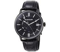 Erwachsene Analog Automatik Smart Watch Armbanduhr mit Leder Armband ES-8075-05