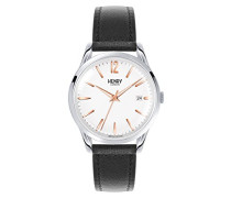 Analog Quarz Uhr mit Leder Armband HL39-S-0005