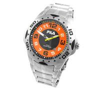 Herren-Armbanduhr Analog Quarz Edelstahl 645122