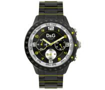 Unisex-Armbanduhr Analog Quarz Edelstahl DW0193
