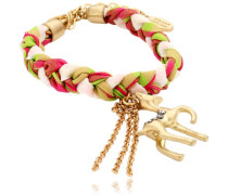 Damen-Armband Messing Wiesn Tricolor Reh 2602