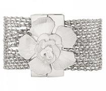 Damen-Manschetten Armbänder Versilbert E18LLOLYSI