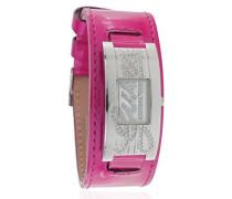 Damen-Armbanduhr Analog Quarz Plastik W80055L6