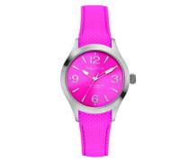 Damen-Armbanduhr Analog Quarz Silikon A11102M