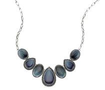 Fashion Collier mit blauen Steinen Lnge 45-51cm 420050003