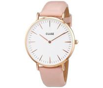Damen-Armbanduhr Analog Quarz Leder CL18014