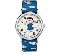 Erwachsene Analog Klassisch Quarz Uhr mit Nylon Armband TW2R41300