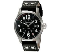 Analog Automatik Uhr mit Leder Armband H70615733