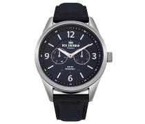 Multi Zifferblatt Quarz Uhr mit Nylon Armband WB069UU
