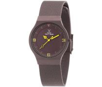 Unisex-Armbanduhr Analog Edelstahl MH08BR