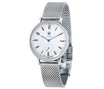 Analog Quarz Uhr mit Edelstahl Armband DF-9001-12