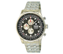 Armbanduhr Trigger Chronograph Quarz Edelstahl CD-TG2-QZ-ST-STST-BK