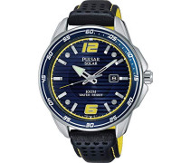 Analog Quarz Uhr mit Kautschuk Armband PX3091X1