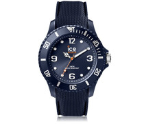 ICE sixty nine Dark blue - Blaue Herrenuhr mit Silikonarmband - 007278 (Medium)