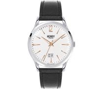 Analog Quarz Uhr mit Leder Armband HL41-JS-0067