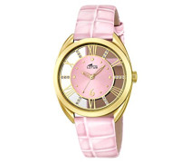 Damen-Armbanduhr Analog Quarz Leder 18225/1