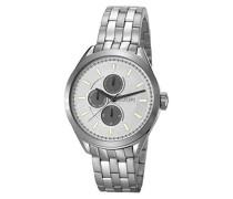 ! Armbanduhr GEORGE Analog Quarz Edelstahl JP101611005