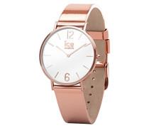 Ice Watch Analog Quarz Smart Armbanduhr mit Leder Armband 015085