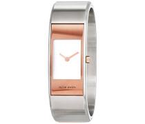 Damen-Armbanduhr Analog Quarz Edelstahl 32445