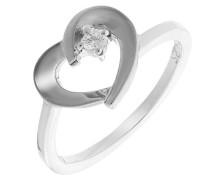 Mädchen-Ringe 925_Sterling_Silber zirkonia '- Ringgröße 56 (17.8) zr-7370/56