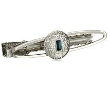 Krawattenklammer Kristall Blau 5.08 cm - 64266