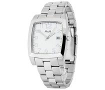 Armbanduhr Analog Quarz Edelstahl M11620-173