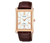 Herren-Armbanduhr Analog Quarz Leder PG8248X1