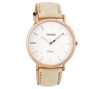 Damen Digital Quarz Uhr mit Leder Armband C7734