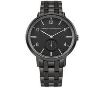 Datum klassisch Quarz Uhr mit Edelstahl Armband FC1288BBM