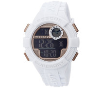 Erwachsene Digital Quarz Uhr mit Silikon Armband SYG193WRG