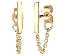 Damen-Ohrhänger Geo 925 Silber - 0304512417