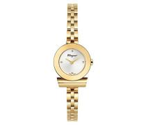Salvatore Ferragamo Datum klassisch Quarz Uhr mit Edelstahl Armband FBF030016