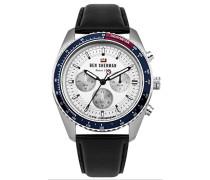 Analog Quarz Uhr mit Leder Armband WBS108UB