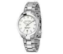Analog Quarz Uhr mit Edelstahl Armband R3253588509