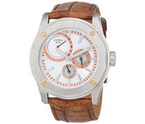 Datum klassisch Quarz Uhr mit Edelstahl Armband 12547G2