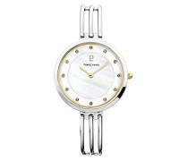 Analog Quarz Uhr mit Edelstahl Armband 015H690