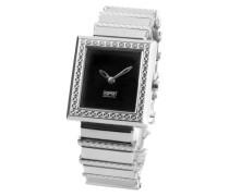 Damen-Armbanduhr XS Analog Edelstahl EL900432002